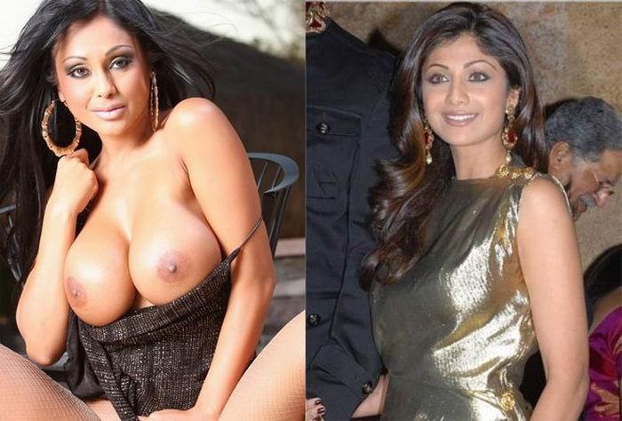 Подборка снимков больших сисек с пирсингом - секс порно фото