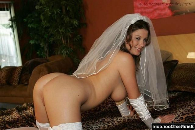 Домашняя подборка снимков обнажающихся невест - секс порно фото